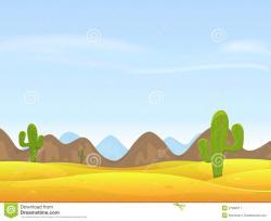Sahara clipart western background