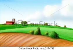 Farmland clipart agricultural land