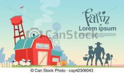 Countryside clipart farmland