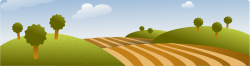 Feilds clipart country landscape