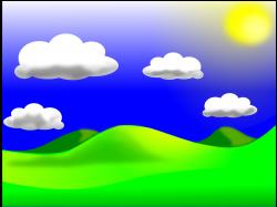 Landscape clipart daytime