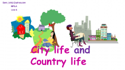 Countyside clipart village school