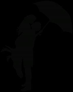 Romance clipart silhouette