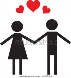 Couple clipart
