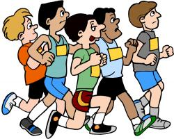 Race clipart cross country running