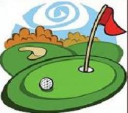 Golf Course clipart