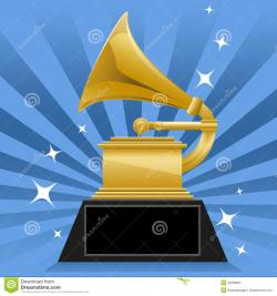 Trophy clipart grammy award