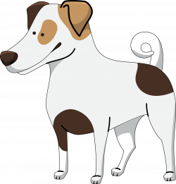 Jack Russell Terrier clipart for kid