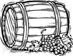 Courtyard clipart wine barrel