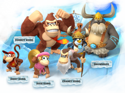 Covered clipart donkey kong tropical freeze