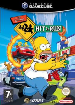 Cover clipart simpsons hit and run