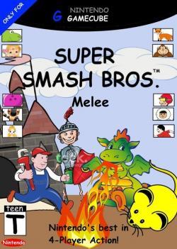 Cover clipart super smash bro
