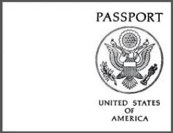 Covered clipart us passport