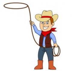 Cowboy clipart
