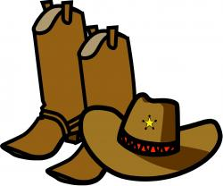 Cowgirl clipart hat day