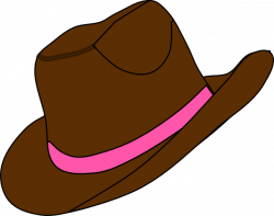 Boots clipart cowgirl hat