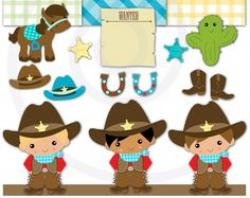 Cowgirl clipart lil