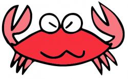 Crab clipart grumpy