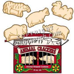 Cracker clipart animal cracker