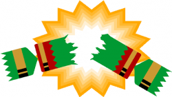 Cracker clipart pulled