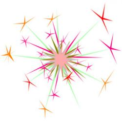 Glitter clipart magic sparkles