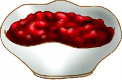 Cranberry Relish clipart canned