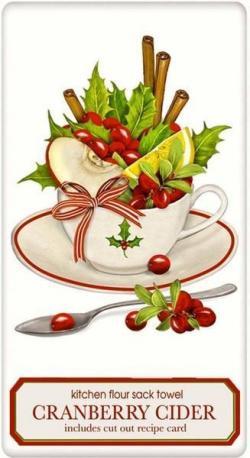 Cranberry clipart christmas