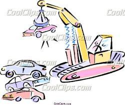 Crane clipart junkyard