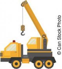 Crane clipart truck crane