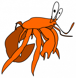 Crustacean clipart sea creature