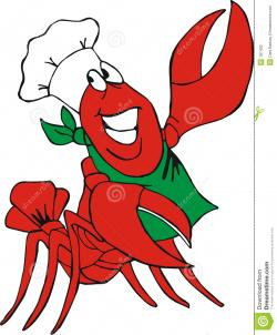 Crawfish clipart simple