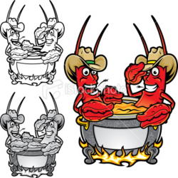 Crawfish clipart crawfish boil