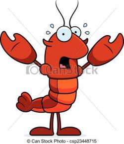 Crayfish clipart cartoon