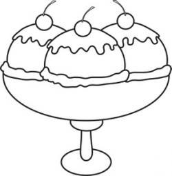 Sundae clipart pudding