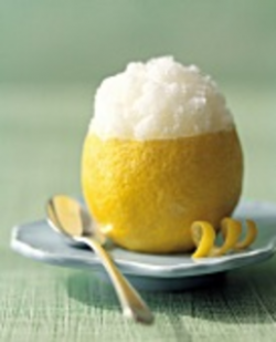 Cream clipart lemon ice