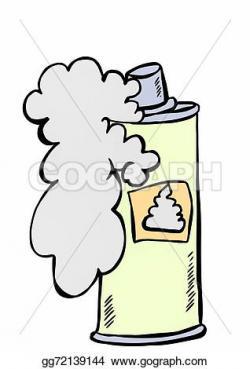 Foam clipart shaving cream