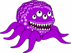 Pink Eyes clipart monster creature