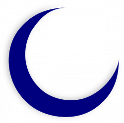 Blur clipart crescent moon
