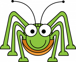 Cute clipart insect
