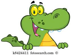 Alligator clipart amphibian