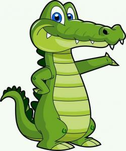 Crocodile clipart ferocious