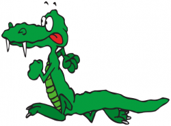 Crocodile clipart tongue