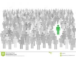 Audience clipart individual