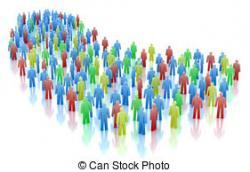 Crowd clipart mass communication
