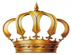 Queen clipart gold crown