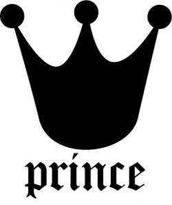 Crown clipart black prince