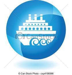 Cruise Ship clipart mexico