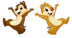 Chipmunk clipart chip and dale