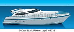 Cruise clipart luxury yacht