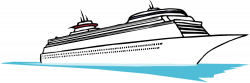Sailboat clipart passenger ship